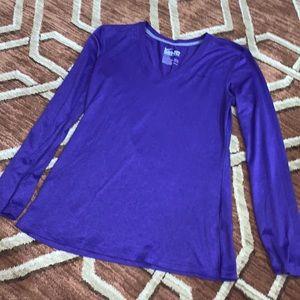 EUC Nike small purple dri fit long sleeve shirt